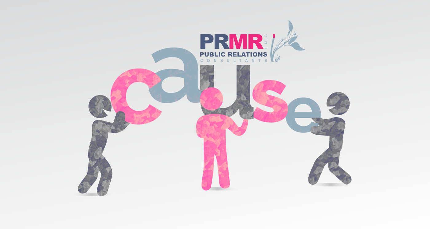 PRMR Inc Galvanizing support for Cause. Caribbean PR Company.