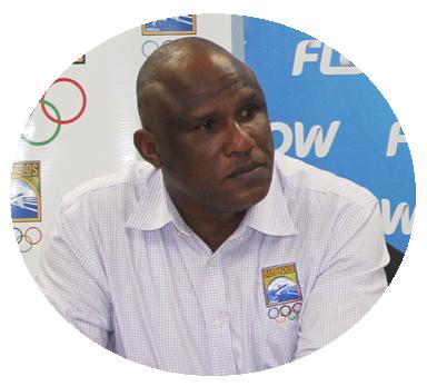 Glyne Clarke Barbados Olympic Association
