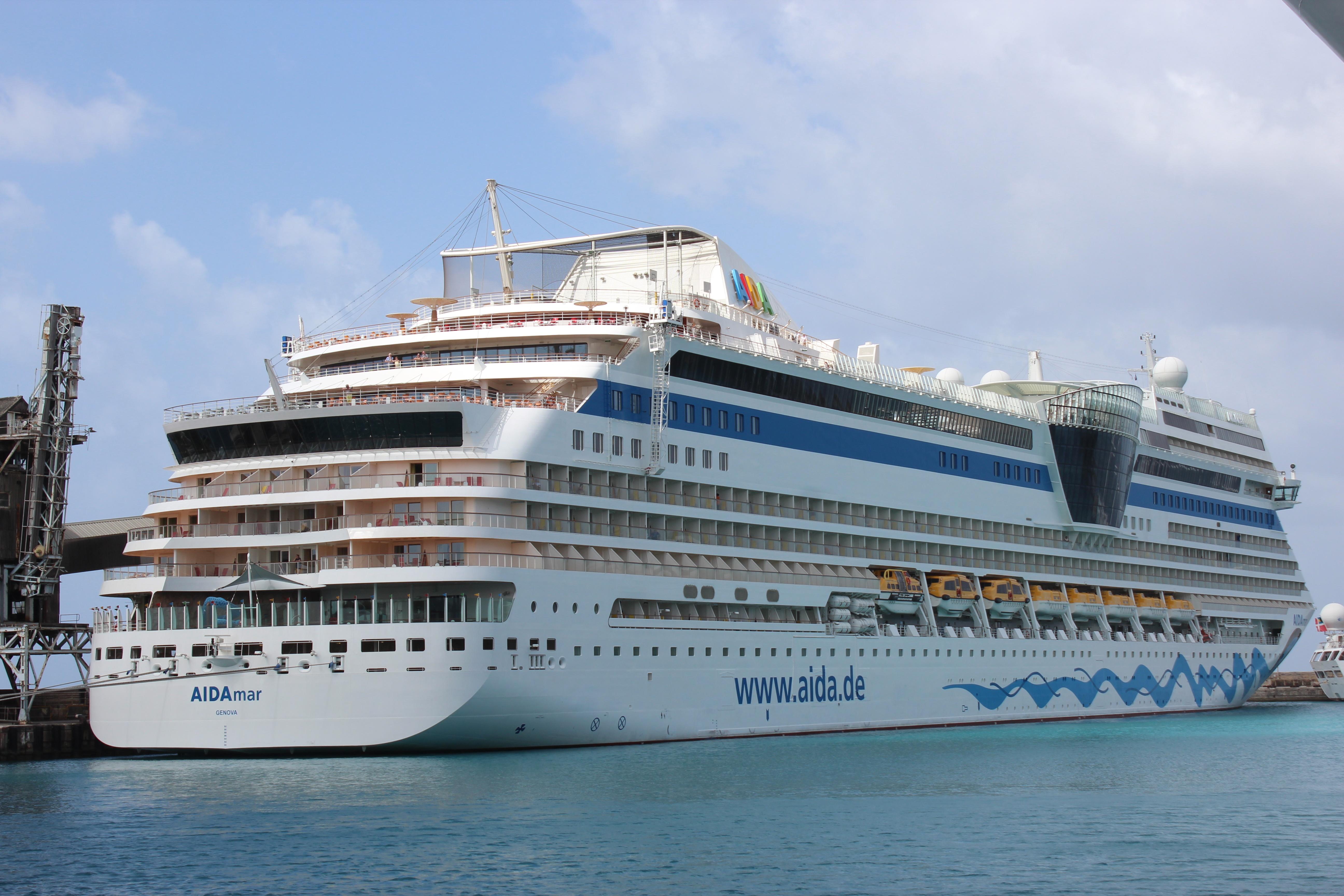 AIDAmar makes Inaugural to Barbados