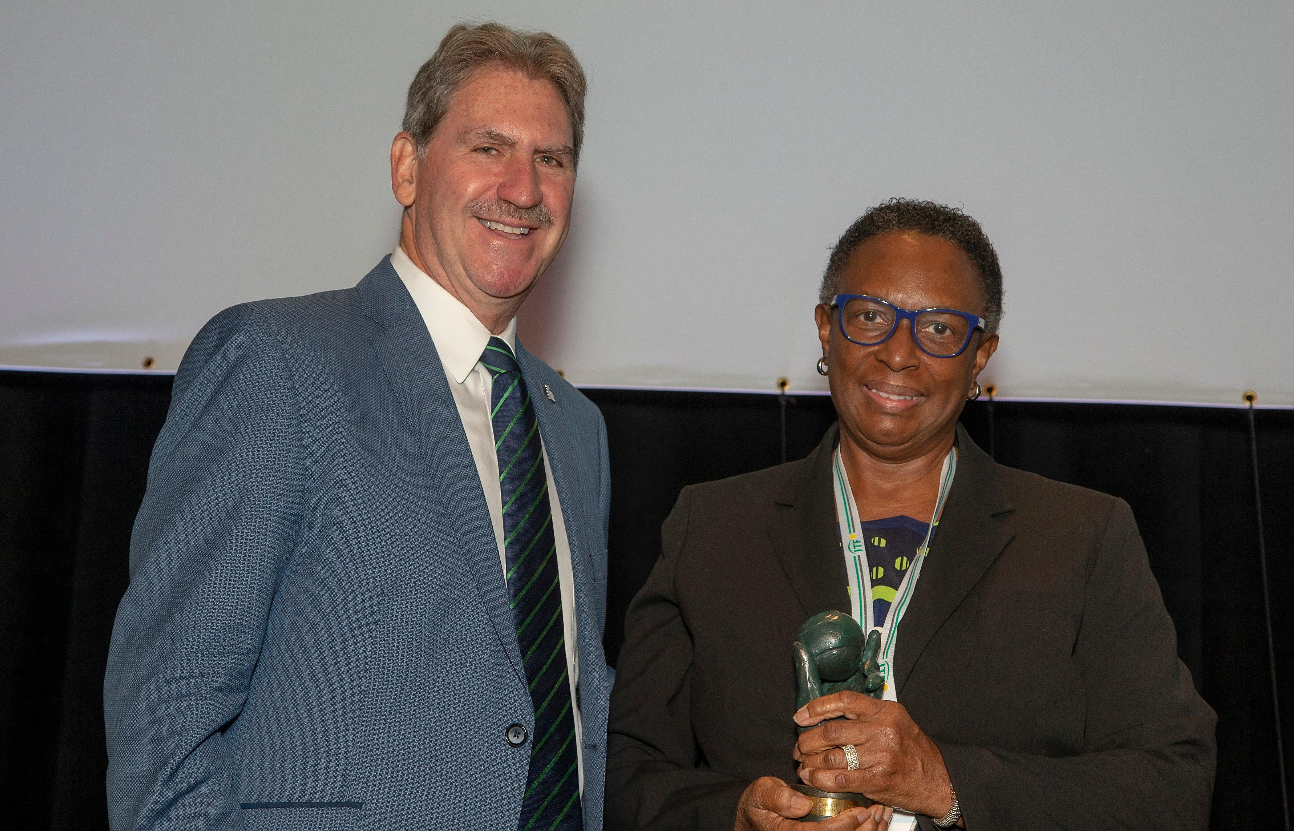 ITF AGM AGM 2018 Sandra Osborne Award