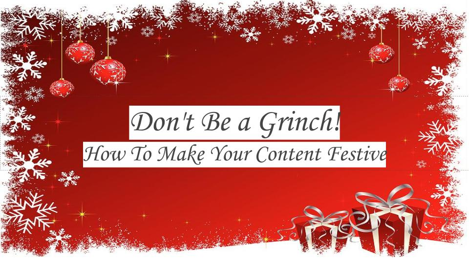 How to make your business' content more festive this holiday season by Barbados public relations agency PRMR Inc. Business Barbados