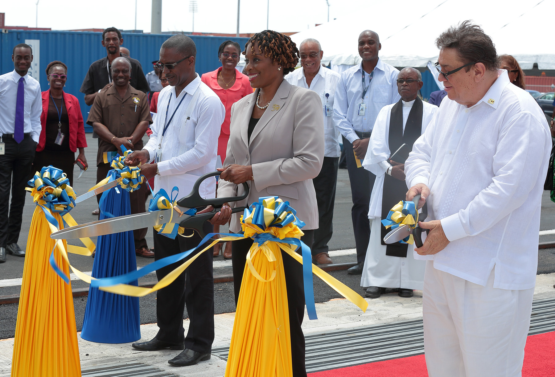Barbados Port Inc. held a commissioning ceremony for new equipment in April 2016