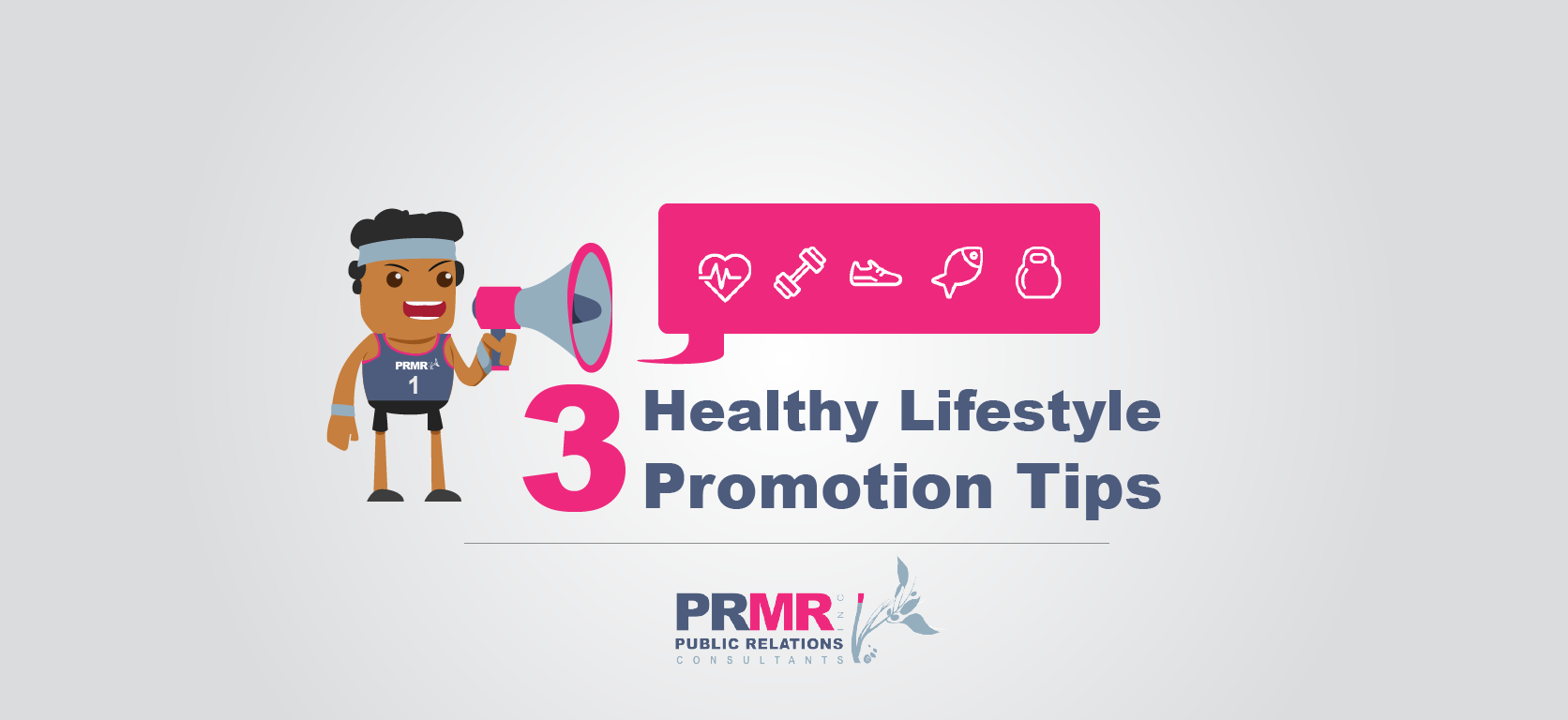 Three ways to promote healthy lifestyles